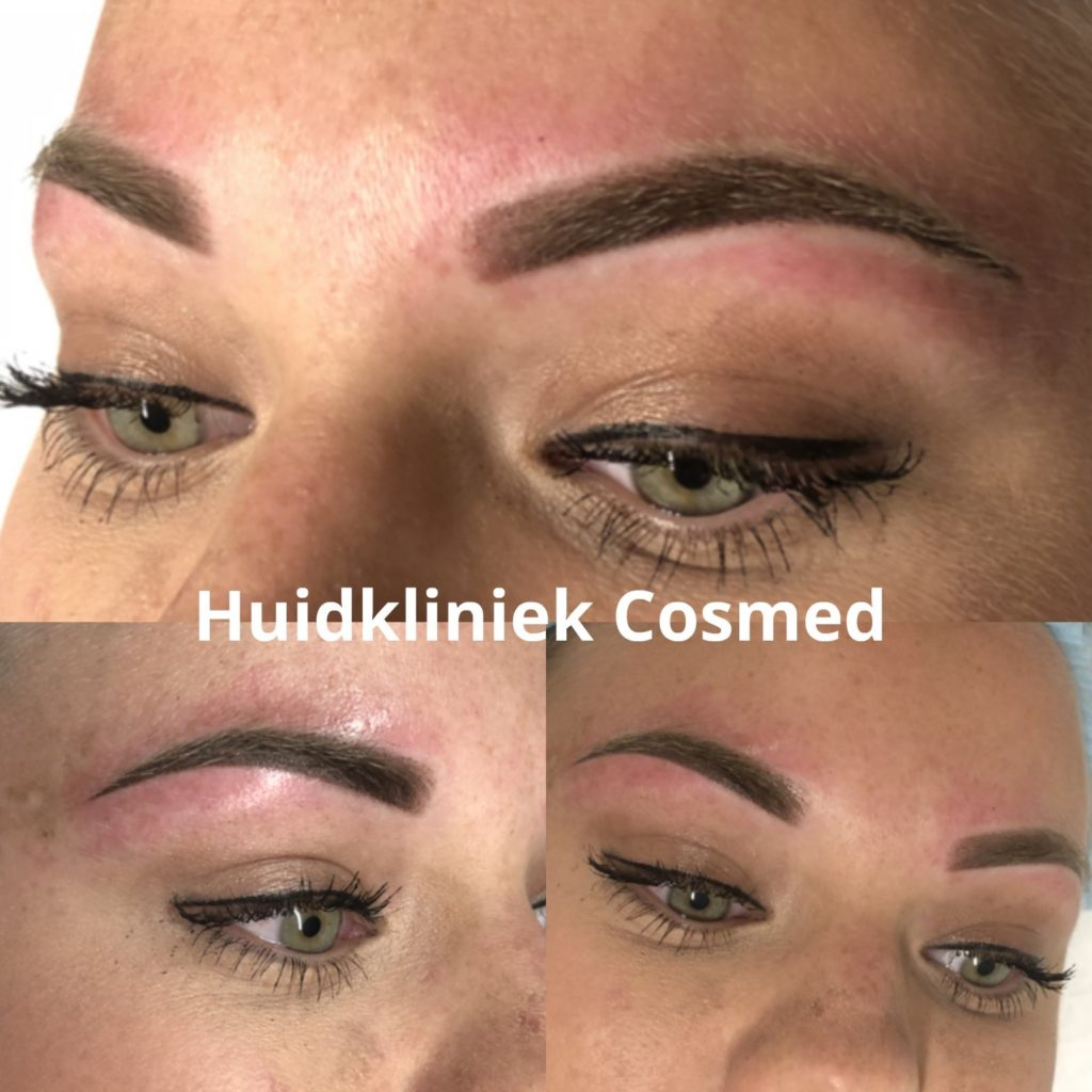 Permanente make-up (PMU) wenkbrauwen ombre
